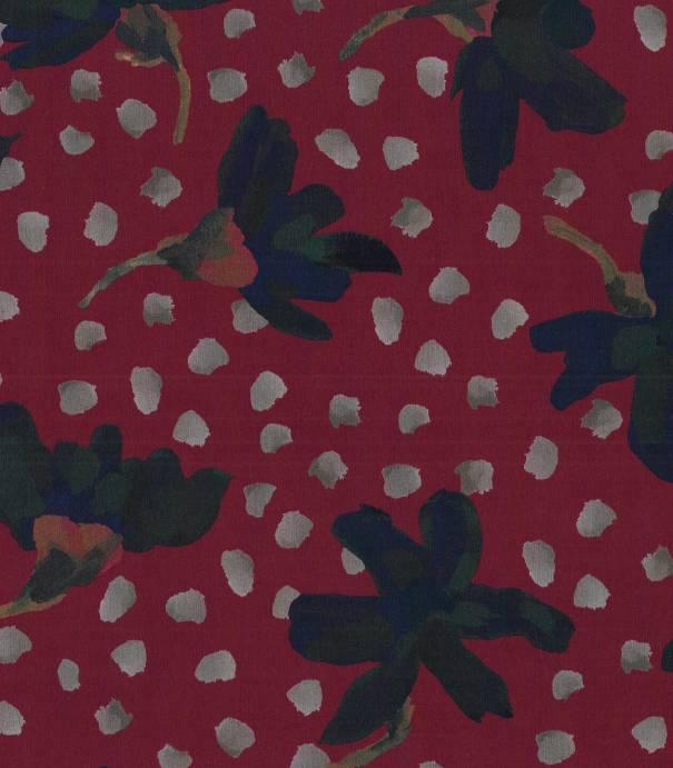 Tissu Liberty Sundaisy - Rouge