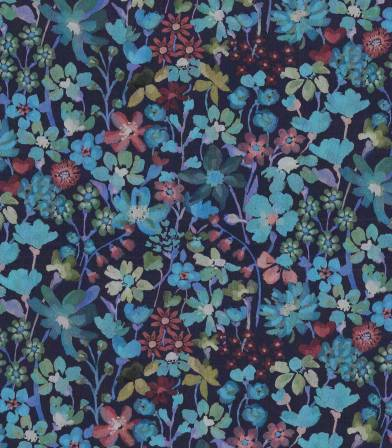 Tissu Liberty Dream of Summer - Bleu