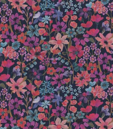 Tissu Liberty Dream of Summer - Rose