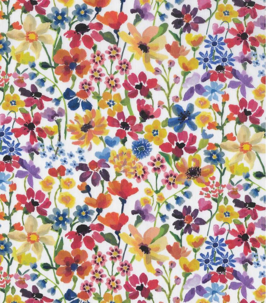 Tissu Liberty Dream of Summer - Multico