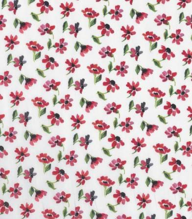 Tissu Liberty Harmony - Rouge