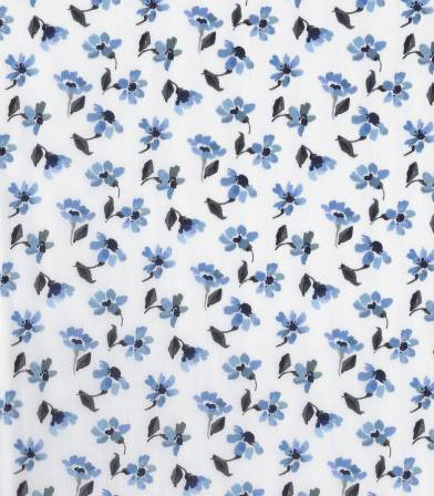 Tissu Liberty Harmony - Bleu