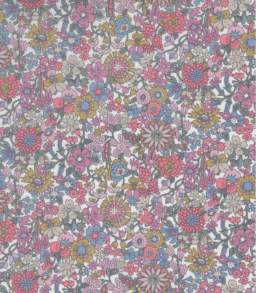 Tissu Liberty June Blossom - Rose