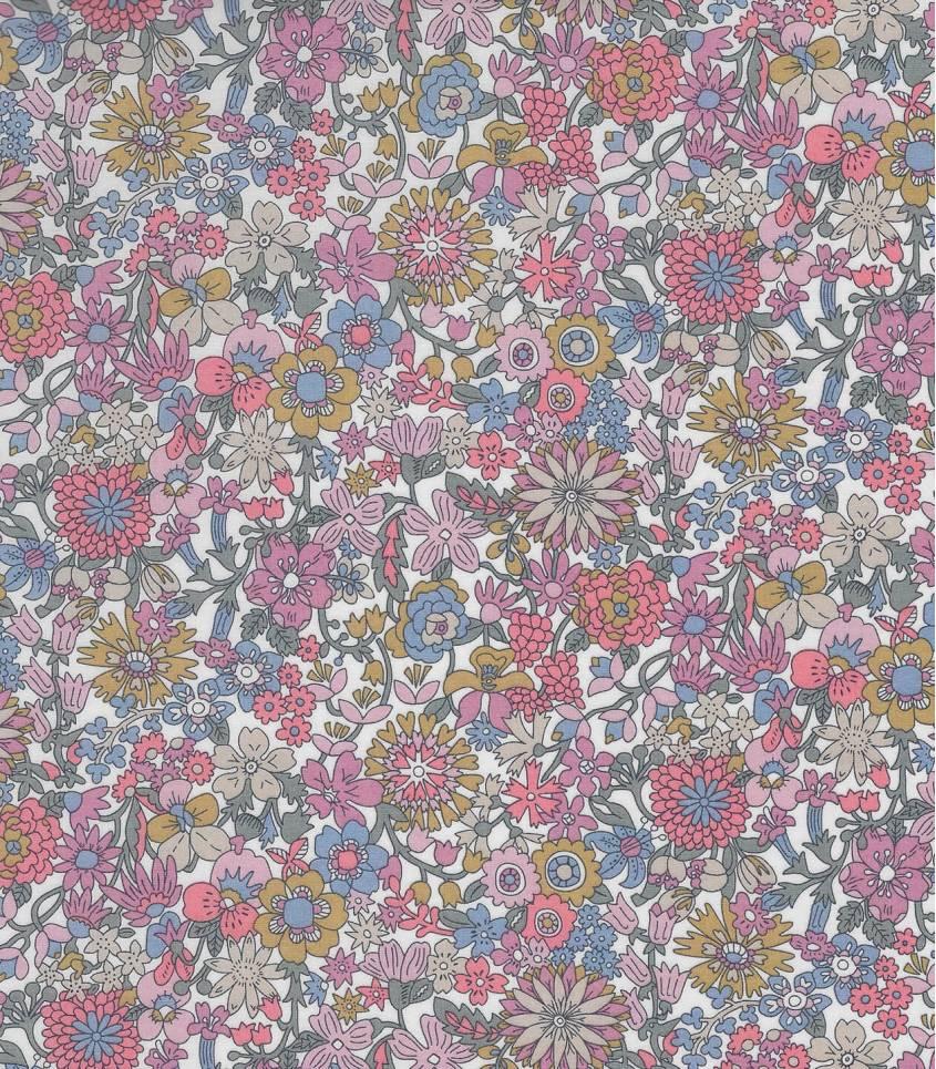 Tissu Liberty June Blossom - Rose