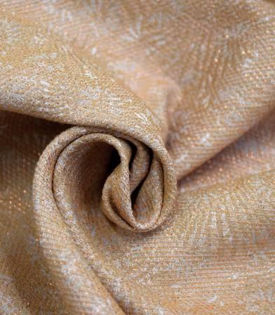 Tissu jacquard Palmito - Cuivre