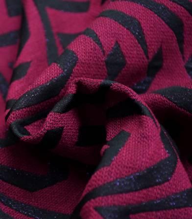 Tissu jacquard Zebra - Purple