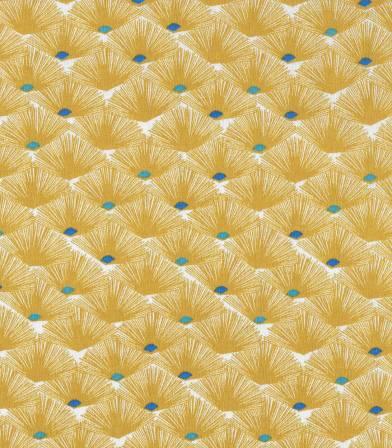 Tissu fleuri Nautilus - Massala