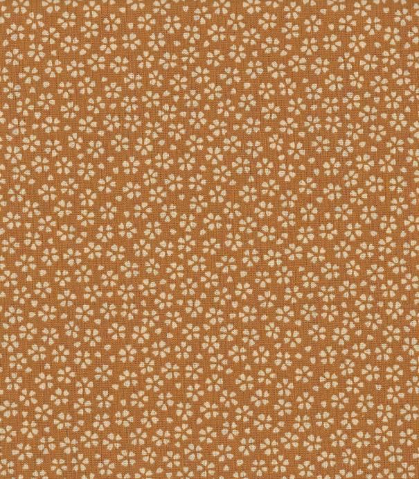 Tissu fleuri Myosotis - Sahara