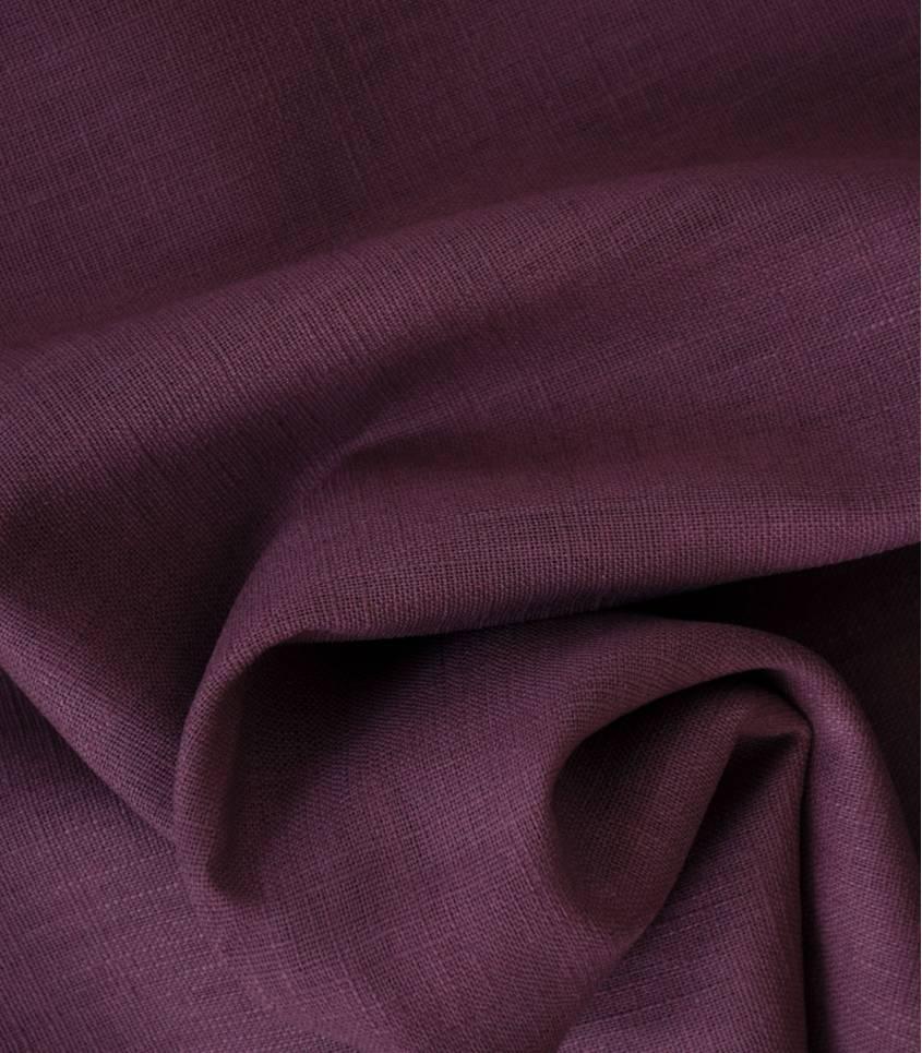 Tissu Lin bois de rose
