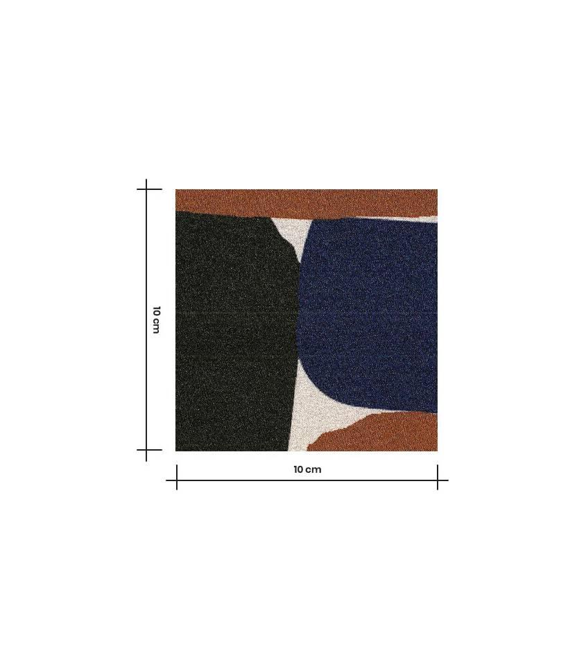 Tissu viscose - Brick Blue