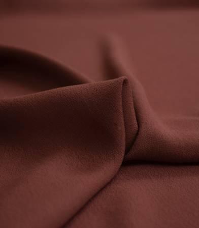 Tissu crêpe viscose - Sépia