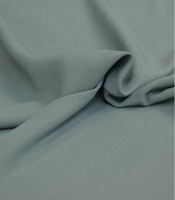 Tissu crêpe viscose - Vert de gris