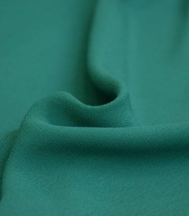Tissu crêpe viscose - Emeraude