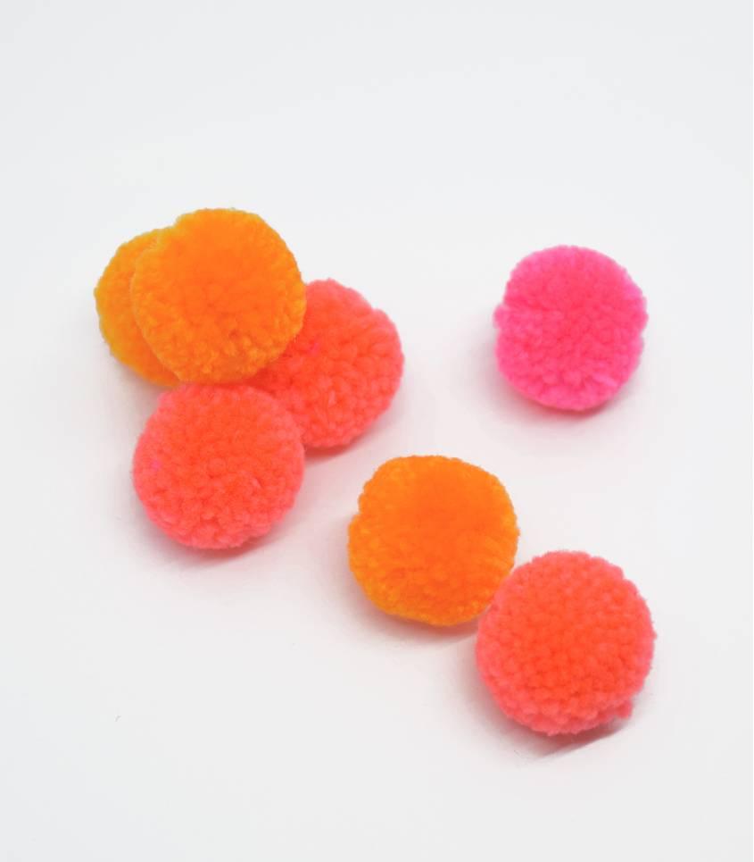 Set de pompon - Fluo