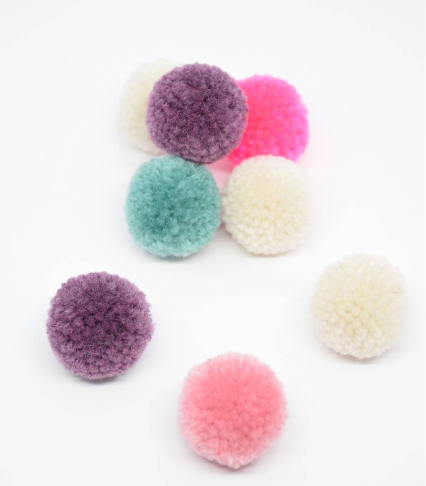 Set de pompon - Xmas pastel