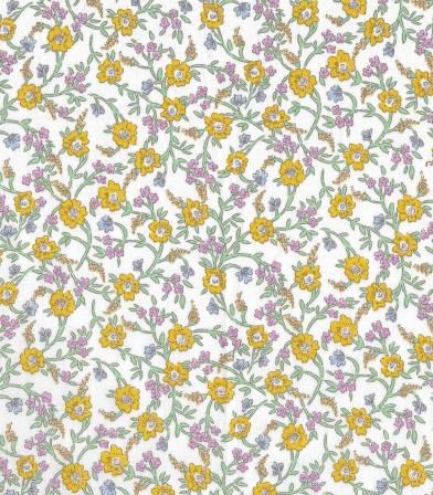 Tissu Liberty Hanna Fay - Yellow