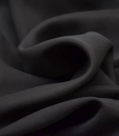 Tissu lyocell twill - Black