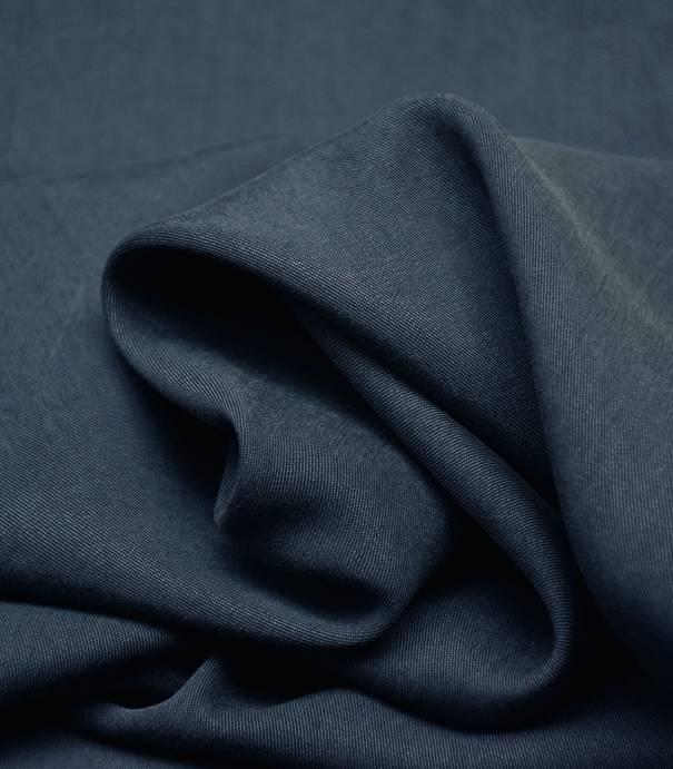 Tissu Tencel twill - Marine