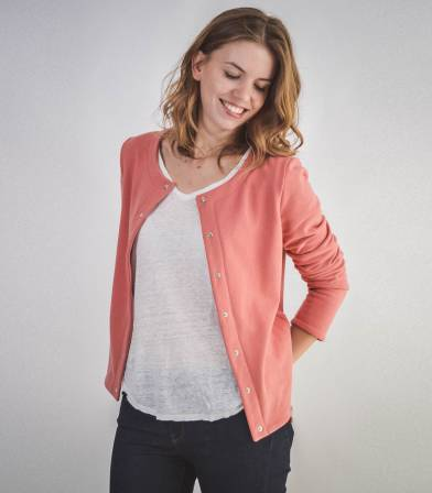 Patron Gilet Monceau - Sweat Courcelles
