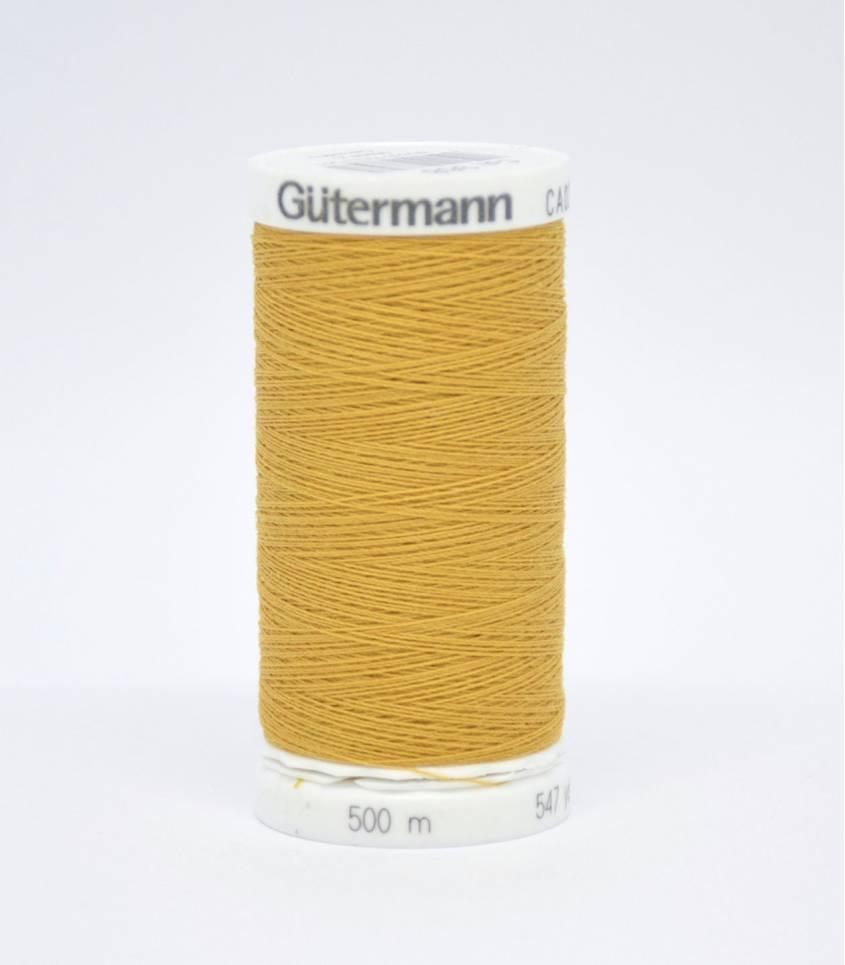 Fil à coudre Gütermann 500m -968 moutarde