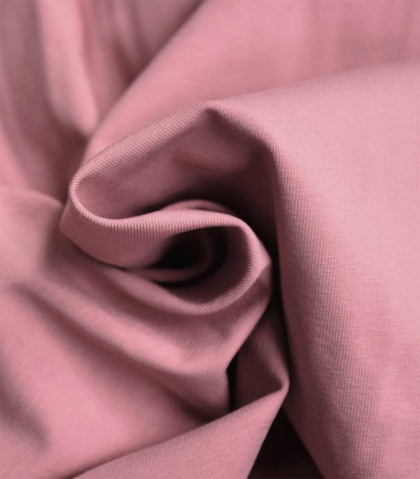 Tissu jersey hortensia - OEKO TEX