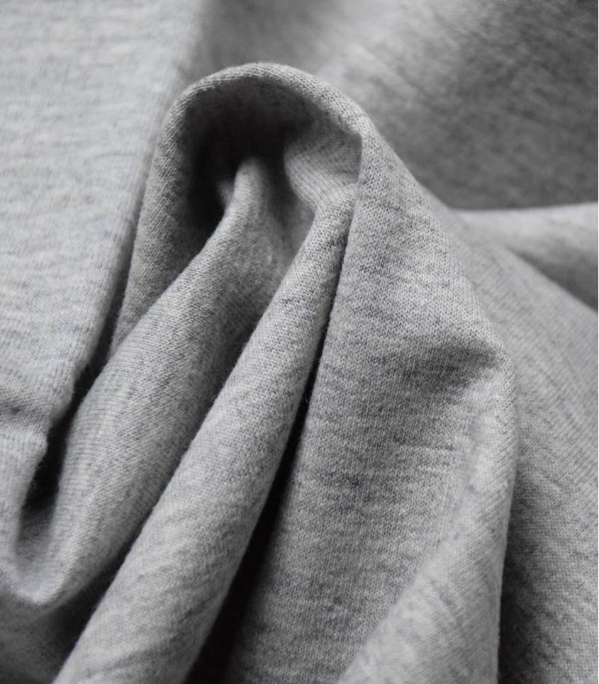 Tissu sweat grey
