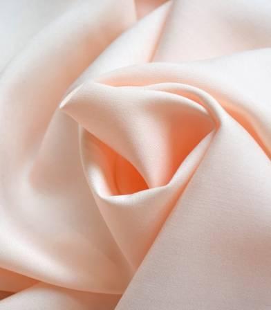 Tissu viscose - Nude