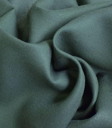 Tissu crêpe de viscose - Smoke Green
