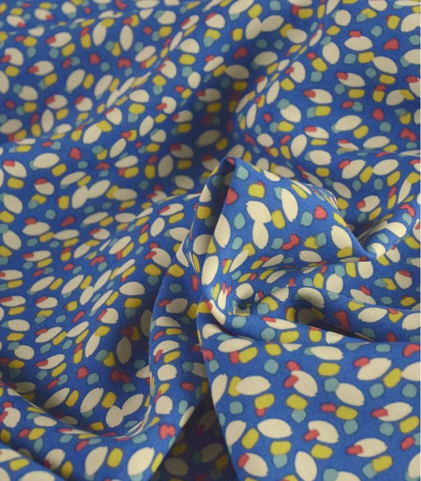 Tissu viscose Konogo - Blue