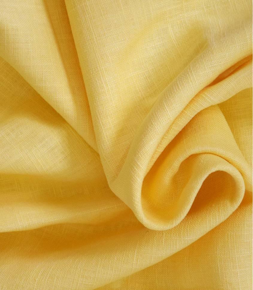 Tissu Lin limoncello