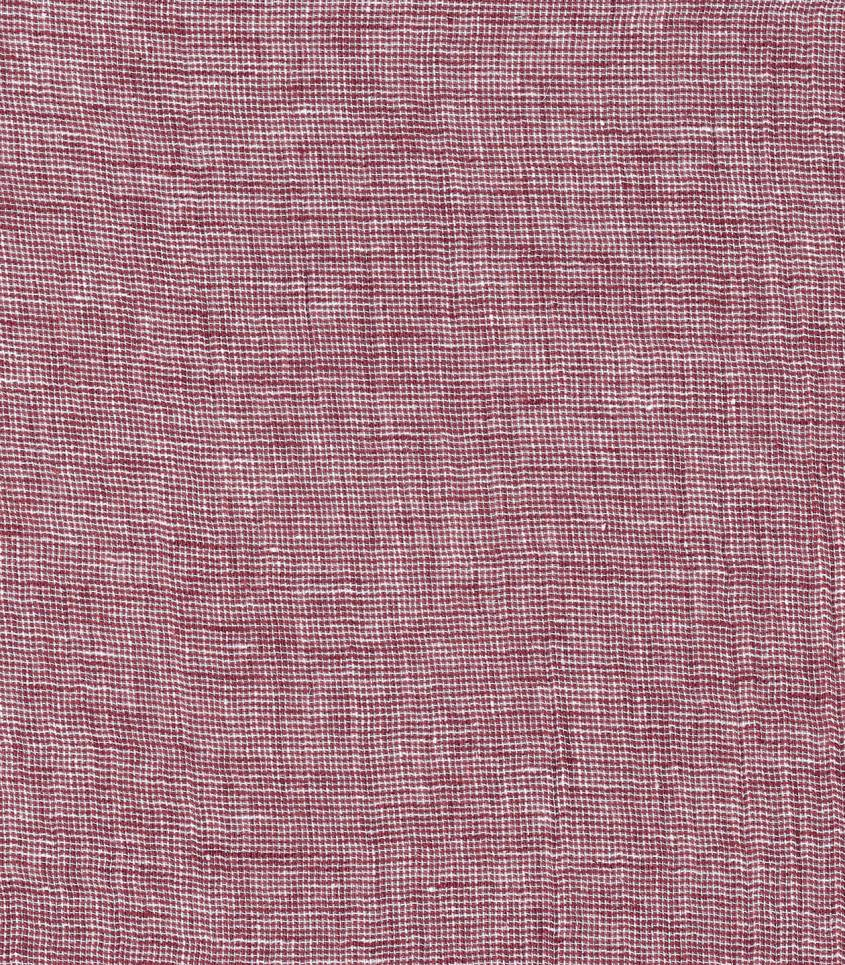 Tissu lin coton - chambray Rost