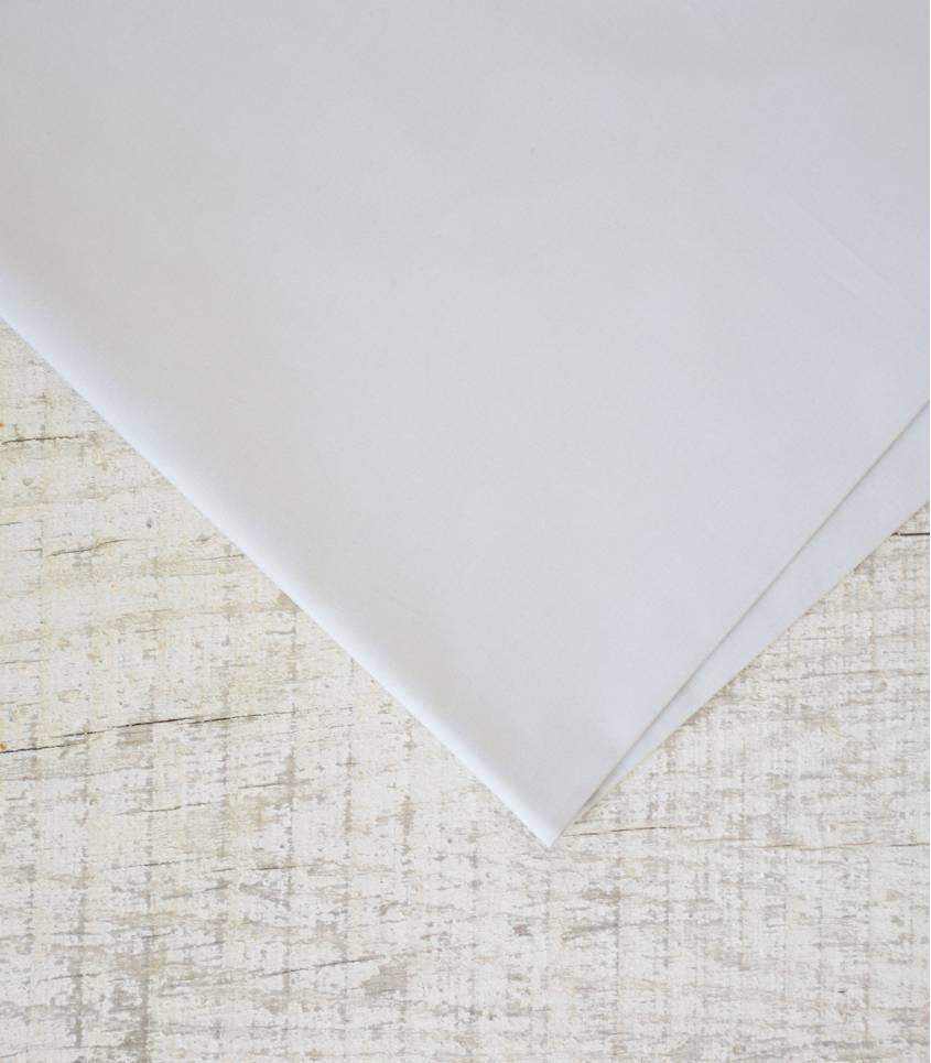 Tissu popeline de coton grisée