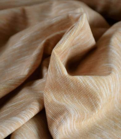 Tissu jersey coton - Mini rayures Harvest