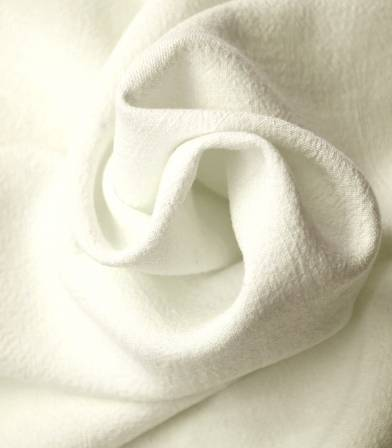 Tissu Lin viscose - Off White
