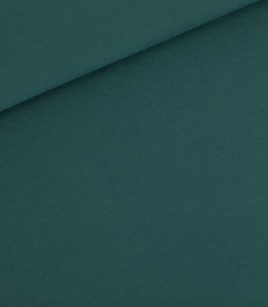 Tissu French terry - Vert Colvert