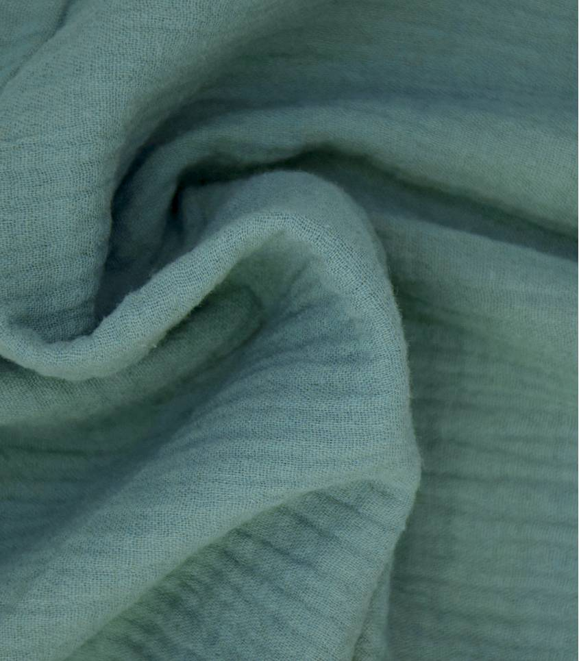 Double gaze pois dorés - EUCALYPTUS