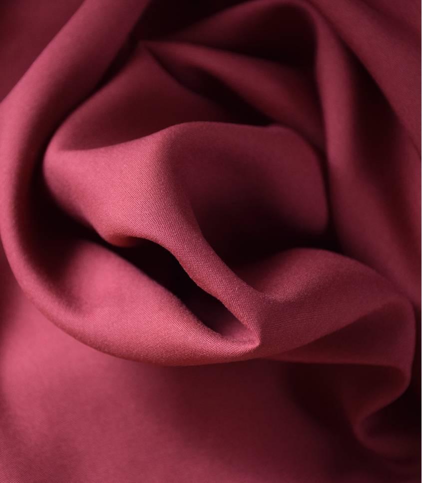 Tissu viscose - Pourpré