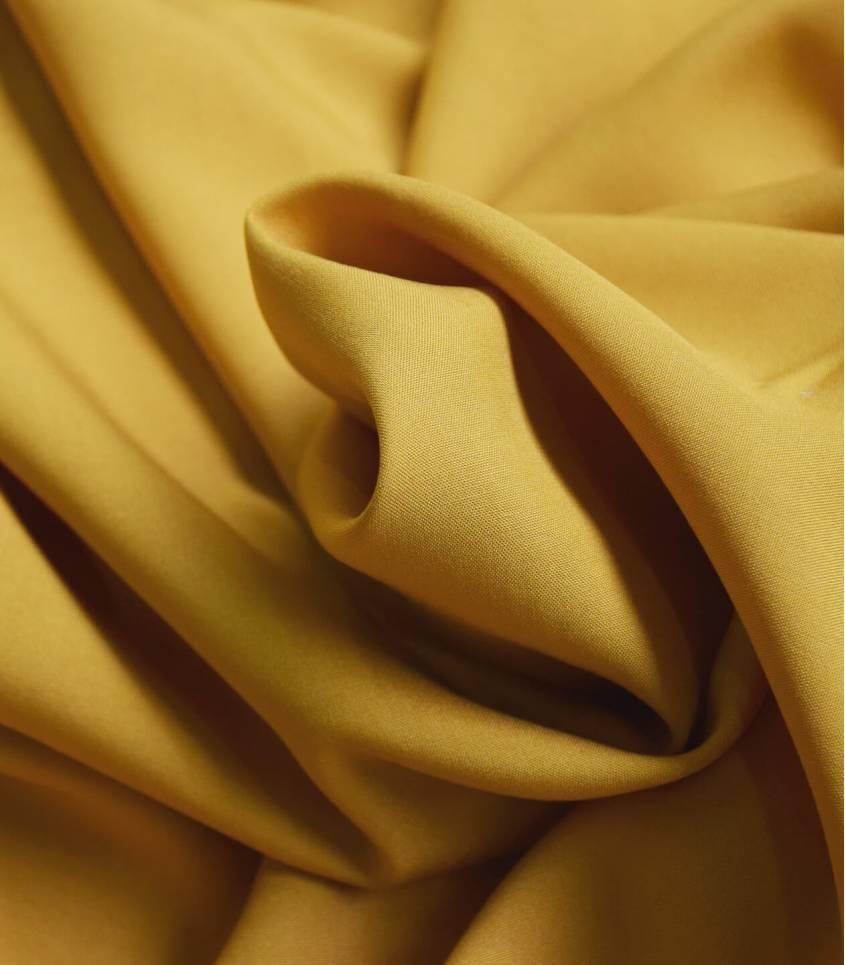 Tissu viscose - Ocre