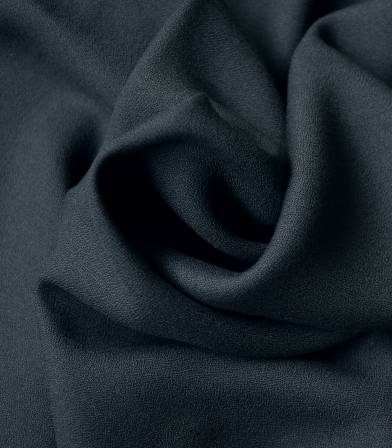 Tissu crêpe de viscose - Anthracite