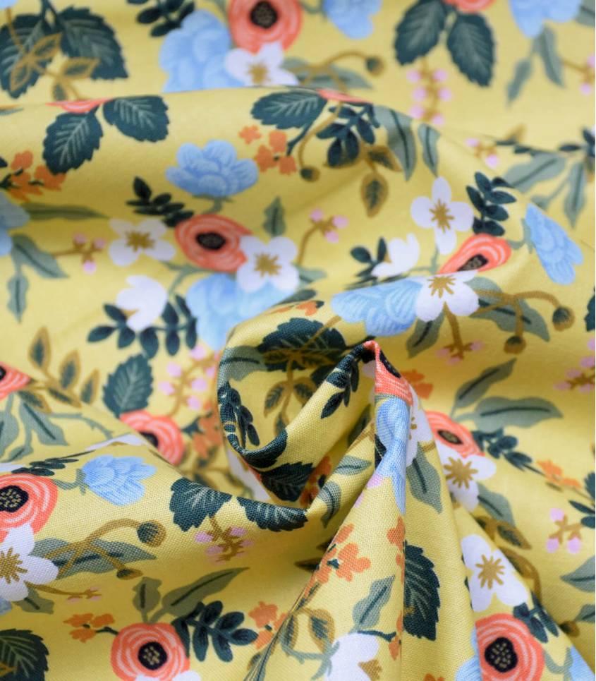 Tissu coton Primavera Birch - Yellow