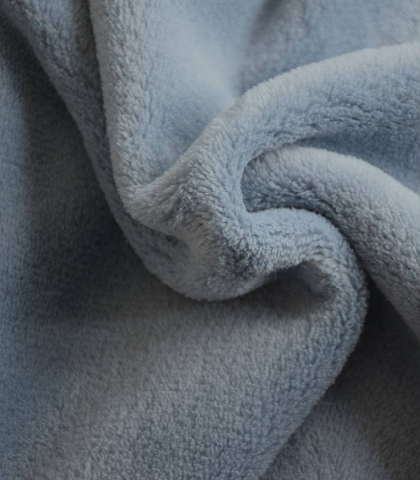 Tissu polaire doudou orage