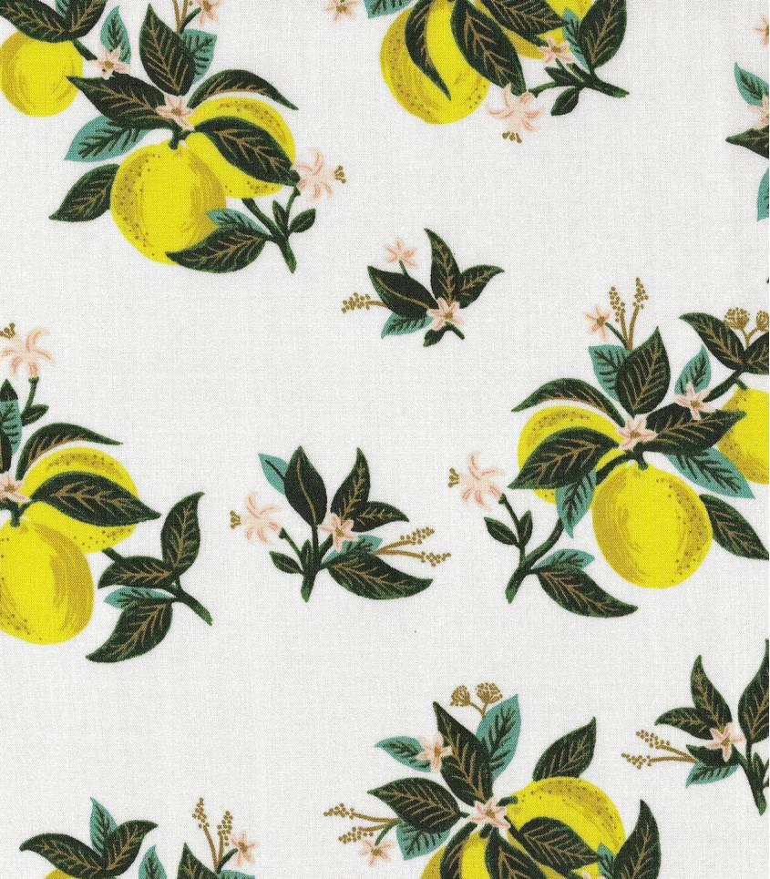 Viscose Primavera - Citrus Blossom - Lemon