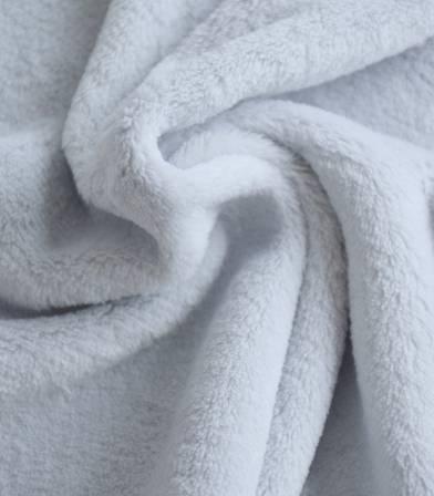 Tissu polaire doudou glaçon