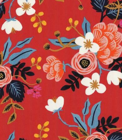 Tissu viscose Birch Floral - Enamel