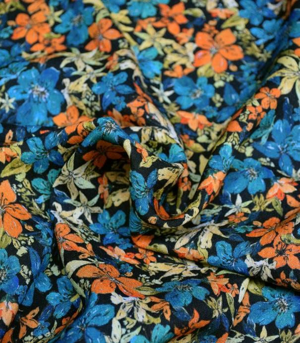 Tissu viscose Bermudiennes - Soleil