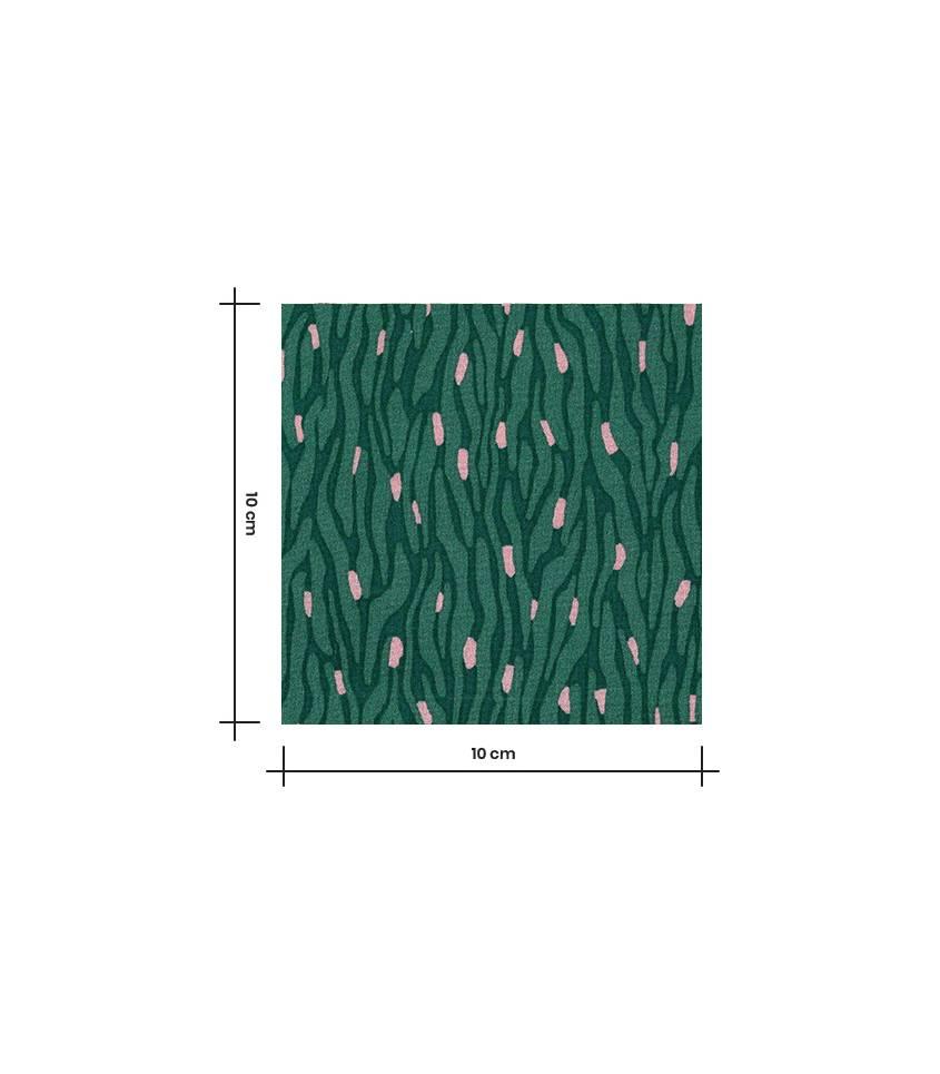 Tissu viscose Ecorce - Green