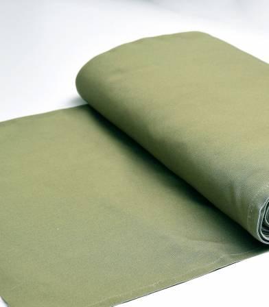 Tissu toile transat - Vert kaki