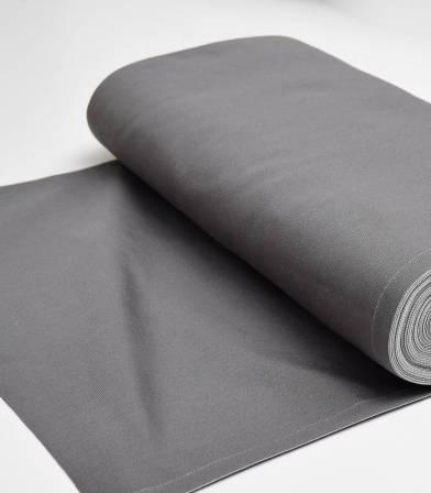 Tissu toile transat - Gris orage