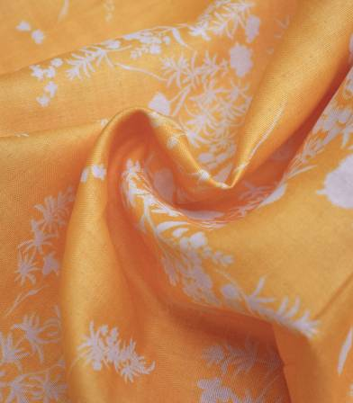 Tissu japonais Nani Iro - Jardin soleil