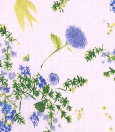 Tissu japonais Nani Iro - Jardin light pink